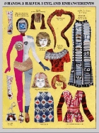 collage paper doll for Paper Doll Studio News