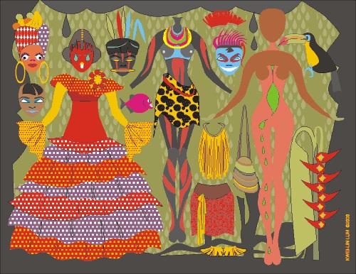 PANGEA . . . pangea, international fashion, ethnic clothing, flatdoll ...